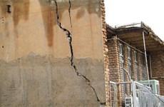 Thương vong ban đầu trong trận động đất ở Tây Nam Iran