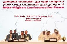 Các tổ chức chính trị Afghanistan và Taliban nối lại đàm phán