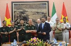 Đối thoại Chính sách quốc phòng Việt Nam-Italy lần thứ ba