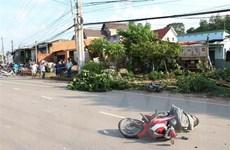 Bình Dương: Xe ben tông vào nhà dân, một người tử vong