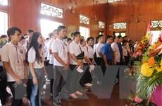 Sâu nặng ân tình Trại hè Việt Nam 2019 thăm quê hương Bác