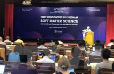 Hội nghị khoa học về Vật chất mềm lần đầu được tổ chức tại Việt Nam