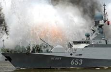 Hạm đội Biển Đen xác nhận tàu hộ tống tên lửa đi vào Địa Trung Hải