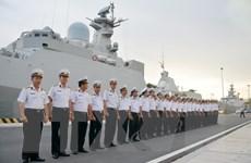 Tàu Hộ vệ tên lửa 016 thăm Liên bang Nga và tham dự duyệt binh