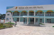 Quảng Bình: Trường mầm non gần 8 tỷ đồng chưa bàn giao đã rạn nứt