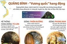 [Infographics] Quảng Bình - ''Vương quốc'' của hang động