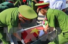 Truy điệu và an táng hài cốt liệt sỹ hy sinh ở Campuchia