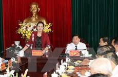 Chủ tịch Quốc hội: Vĩnh Long cần cơ cấu lại sản xuất nông nghiệp