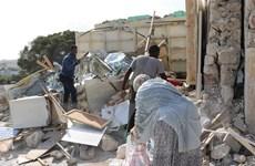 Nổ lớn làm rung chuyển thủ đô Mogadishu của Somalia