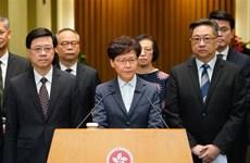 Hong Kong: Biểu tình cực đoan tại Văn phòng Liên lạc của Trung Quốc