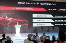 Thaco Trường Hải giới thiệu mẫu xe SUV 5 chỗ Mazda CX-5 thế hệ mới