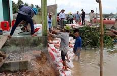 Liên tục xảy ra sạt lở nghiêm trọng tại vùng hạ nguồn sông Hậu