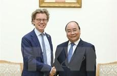 Thủ tướng Nguyễn Xuân Phúc tiếp Đại sứ Thụy Điển