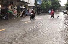 Từ 3-9/8, các khu vực trong cả nước đều có mưa và dông