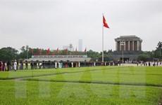 Tiếp tục tổ chức Lễ viếng Chủ tịch Hồ Chí Minh từ ngày 15/8