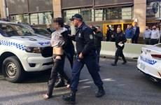 Bắt giữ đối tượng đâm dao tại trung tâm thành phố Sydney