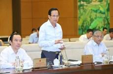 Bộ trưởng Đào Ngọc Dung trả lời chất vấn chi sai bảo hiểm thất nghiệp