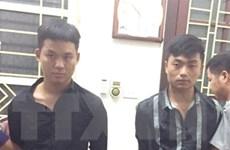 Bộ đội biên phòng Lào Cai bắt 2 đối tượng vận chuyển 10 bánh heroin