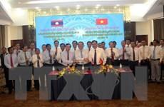 Hợp tác phát triển giữa ba tỉnh Quảng Trị-Savannakhet-Salavan