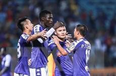 Đánh bại SHB Đà Nẵng, Hà Nội FC củng cố ngôi đầu