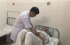 Điều trị cho bệnh nhân nước ngoài bị sỏi niệu quản kèm tim mạch