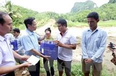 Thanh Hóa: Chia sẻ khó khăn với người dân vùng lũ Quan Sơn