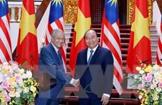 Toàn văn Tuyên bố chung giữa hai nước Việt Nam và Malaysia