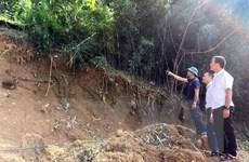 Hòa Bình: Sớm di dời 23 hộ dân trong vùng có nguy cơ sạt lở cao