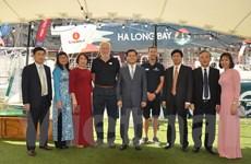Thuyền buồm Ha Long Bay-Viet Nam tham gia giải đua vòng quanh thế giới