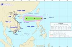 Áp thấp nhiệt đới đi vào biển Đông và có khả năng mạnh thêm