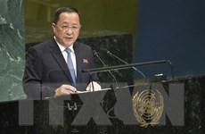 Ngoại trưởng Triều Tiên sẽ không tham dự khóa họp Đại hội đồng LHQ