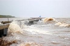 Áp thấp nhiệt đới đã suy yếu thành một vùng áp thấp