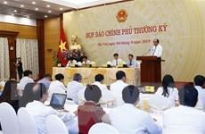 Họp báo Chính phủ: Lấy ý kiến về quy định hàng hóa 'Made in Vietnam'