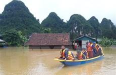 Quảng Bình: 'Rốn lũ' Tân Hóa ngập trong biển nước, nhiều nơi đến 3m