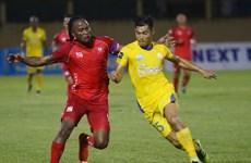 Đội bóng đất Cảng chia điểm với Sanna Khánh Hòa trên sân nhà