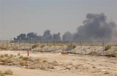 Saudi Arabia tạm ngừng sản xuất tại các cơ sở dầu mỏ bị tấn công