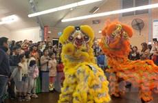 Lễ hội trăng rằm cho các cháu thiếu nhi Việt Nam tại Australia
