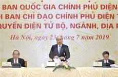 Sửa đổi Quyết định thành lập Ủy ban Quốc gia về Chính phủ điện tử