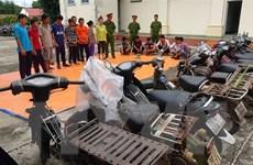 Tây Ninh: Phá tụ điểm đá gà và lắc tài xỉu ở vùng sâu gần biên giới