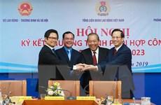 Ba cơ quan ký kết hợp tác trong lĩnh vực quan hệ lao động