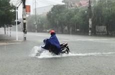 Nam Tây Nguyên, Nam Bộ và Bắc Trung bộ có nơi mưa rất to và dông