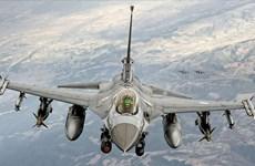Máy bay chiến đấu của Thổ Nhĩ Kỳ bay qua không phận Syria
