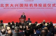 Trung Quốc khai trương sân bay quốc tế mới có nhà ga lớn nhất thế giới