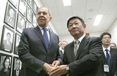 Nhật Bản, Nga nhất trí thúc đẩy đàm phán hiệp ước hòa bình