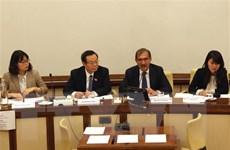 Phó Chủ tịch Quốc hội làm việc với các lãnh đạo Thượng viện Italy
