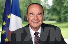 Điện chia buồn cựu Tổng thống Pháp Jacques Chirac qua đời
