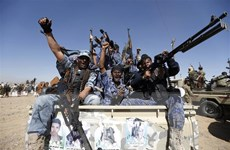 Phiến quân Houthi tuyên bố tấn công biên giới Saudi Arabia