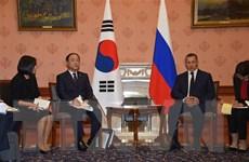 Hàn Quốc và Nga tiếp tục đàm phán FTA về dịch vụ và đầu tư