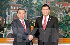 Việt Nam và Séc đẩy mạnh hợp tác trong đấu tranh phòng, chống tội phạm