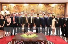 Hà Nội tăng cường hợp tác về giáo dục với Vương quốc Anh